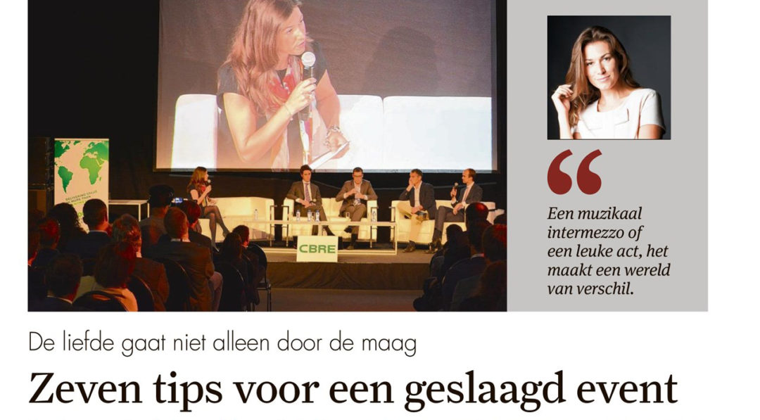 tips event organiseren