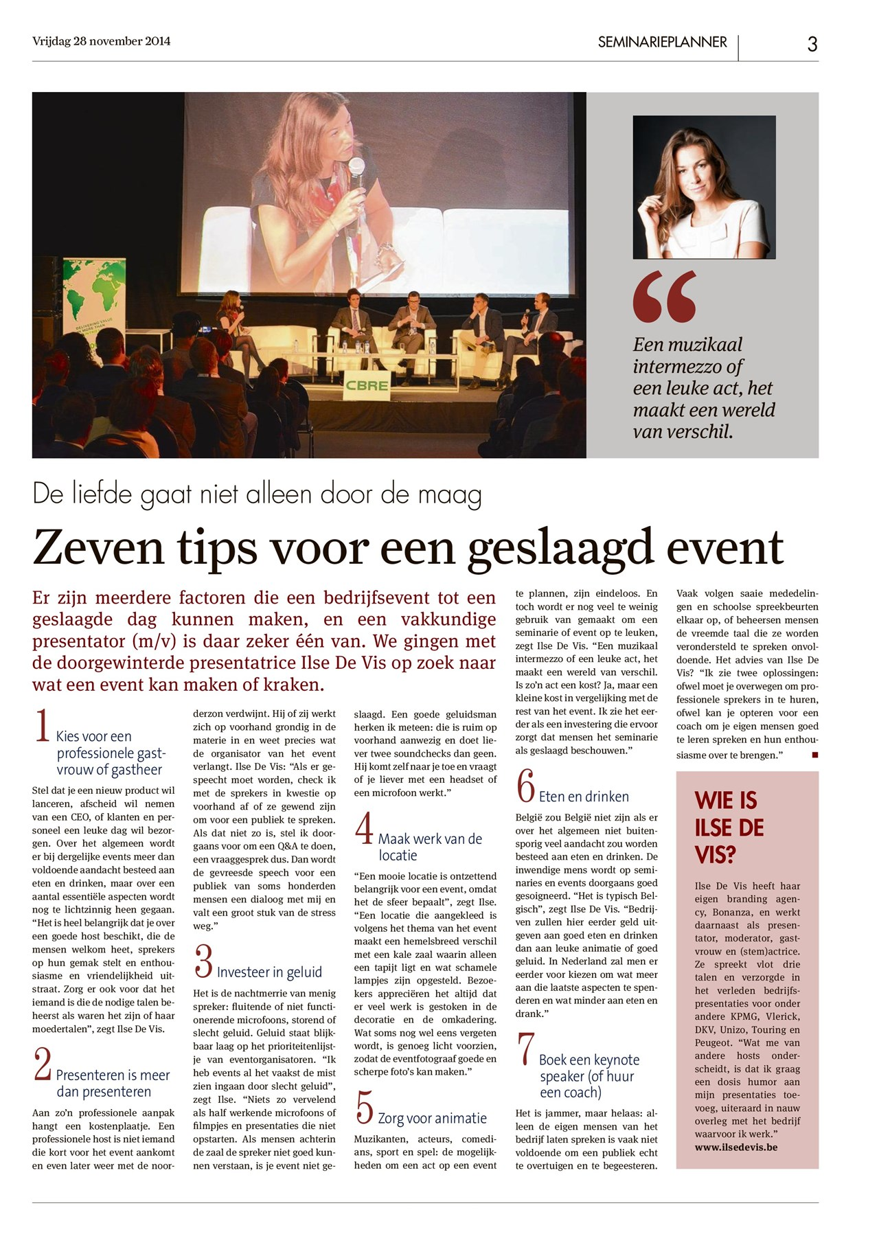 event organiseren tips