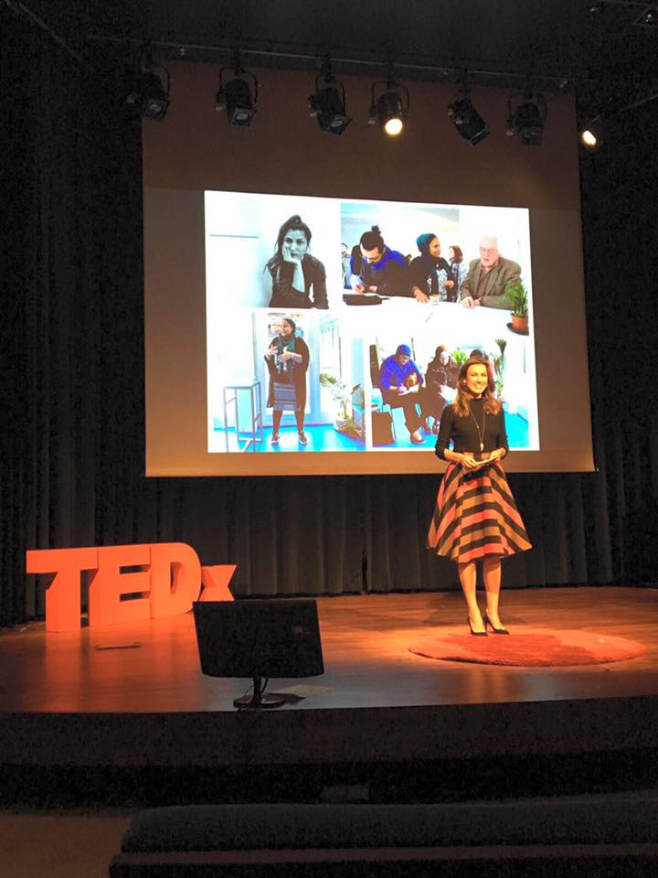 TEDx Flanders Women presenter